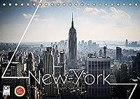 New York Shoots (Tischkalender 2022 DIN A5 quer): Die Stadt die niemals schlaeft ... New York die Stadt der Staedte (Monatskalender, 14 Seiten )