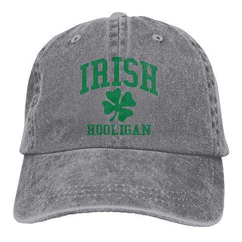 Hoswee Baseballmütze Hüte Kappe Irish Hooligan Unisex Truck Baseball Cap Adjustable Hat Sandwich Peaked Caps Sun Hat