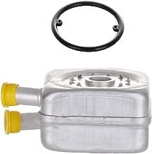 ECCPP Engine Oil Cooler Fit for 1998-2004 Audi A3, 1997-2009 Audi A4, 1997-2009 Audi A4 Quattro, 1999-2006 Audi TT, 1998-2010 Volkswagen Beetle, 1987-2007 Volkswagen Golf 028117021L Oil Cooler
