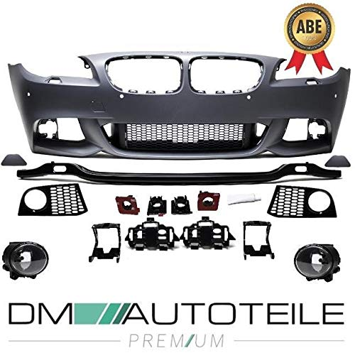 DM Autoteile Sport Stoßstange vorne für PDC/SRA passend für 5er F10 F11 M-Paket 10-13