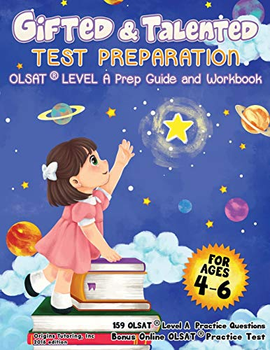 Gifted And Talented Test Preparation Olsat Preparation Guide Workbook Preschool Prep Book Prek And Kindergarten Gifted And Talented Workbook Nyc Talented Test Prep Practice Book For Olsat