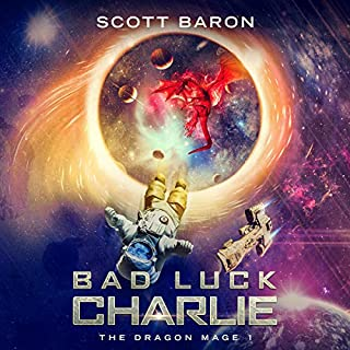 Bad Luck Charlie audiobook cover art