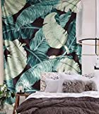 Tapestry Wall Hanging Headboard Home Wall Decor,60'x 80' (Green)