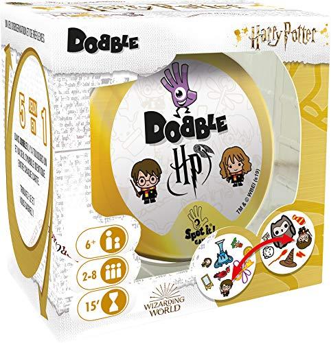 Dobble Harry Potter (edición 2021) - Asmodee Sociedad - Juego de observación, Cartas