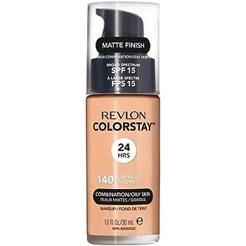 Revlon ColorStay Maquillaje para Piel Normal/Seca SPF 20, Colorstay Oily/Combination Foundation, Oatmeal