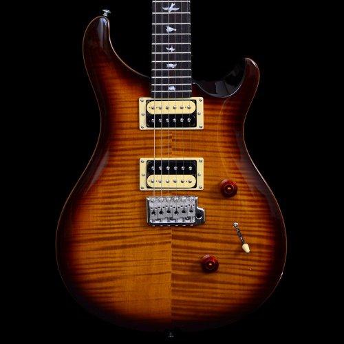 PRS SE Custom 24 Guitarra Eléctrica 2012 - Tobacco Sunburst Tapa Biselada...