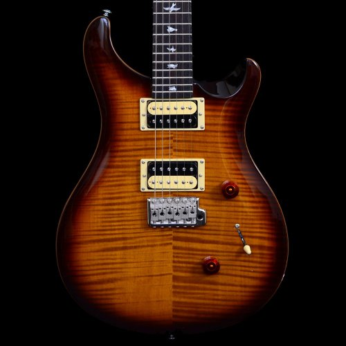 PRS SE Custom 24 Electric Guitar 2012 - Tobacco Sunburst, Beveled Top with Gigbag