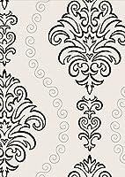 igsticker ポスター ウォールステッカー シール式ステッカー 飾り 841×1189㎜ A0 写真 フォト 壁 インテリア おしゃれ 剥がせる wall sticker poster 004133 チェック・ボーダー 模様 エレガント 白 黒