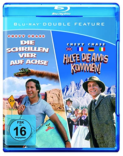 Die schrillen Vier auf Achse/Hilfe, die Amis kommen [Blu-ray]