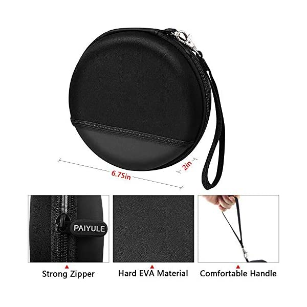 Case Compatible for HOTT Rechargeable Portable CD Player, CD711 / CD611 / Gueray/Soulcker/NAVISKAUTO Personal Compact Disc Player 4