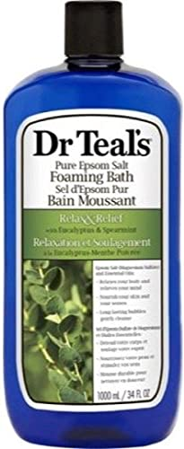 Dr Teal's eucalyptus & spearmint foaming bath, 1000 Milliliter