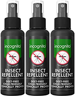 Incognito Anti-Mosquito Spray, 3.3 Fluid Ounce (Pack of 3)