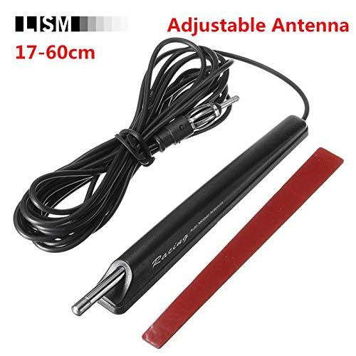 Generic Verstellbare AM/FM Autoradio Signal Antenne ausziehbare Antenne für Lada für Volkswagen VW für KIA für Jeep für Toyota