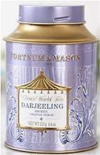 Fortnum & Mason British Tea, Darjeeling BOP Broken Orange Pekoe- 125g Loose Tea in a Gift Tin Caddy (1 Pack) - USA Stock