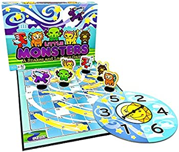 Outset Media Little Monsters A Snakes and Ladders Game