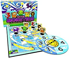 Little Monsters – A Snakes and Ladders Game (Amazon Exclusive) – No Reading Required – Preschool Board Game for Ages 3...