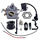 Savior Carburetor Ignition Coil with Gasket Spark Plug Fuel Line for Sthil MS180 MS170 MS180C MS170C 017 018 Chainsaw