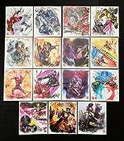 仮面ライダー 色紙ART7 全15種 コンプリートセット