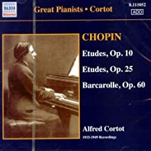 ETUDES OP.10/ ALFRED CORTOT by FREDERIC CHOPIN [Korean Imported] (2006)