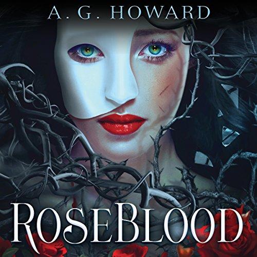 RoseBlood audiobook cover art