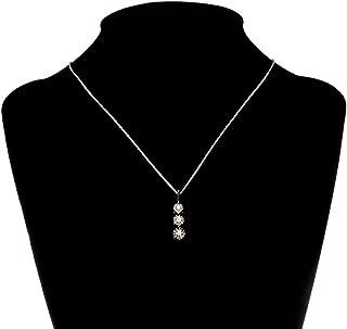 Best three stone diamond pendant Reviews