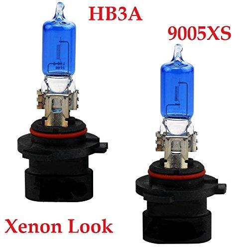 Preisvergleich Produktbild - XENON WEISSE OPTIK - Halogen Auto Lampen 12V UV-Kristallglas für Abblendlicht,  Fernlicht,  Zusatzscheinwerfer und Nebelscheinwerfer nach Wahl. INION® (2x HB3A 9005XS)