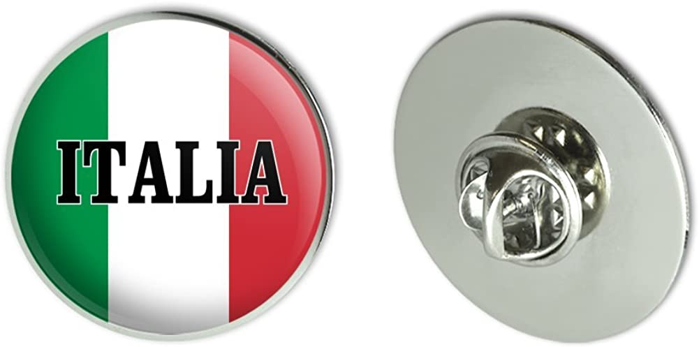 GRAPHICS & MORE Italia Italy Italian Flag Metal 1.1