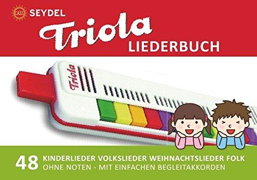Diatonic Songbooks / Triola Liederbuch - 48 Kinderlieder, Volkslieder, Weihnachtslieder, Folk & Gospel: Einfachst aufbereitet für die
