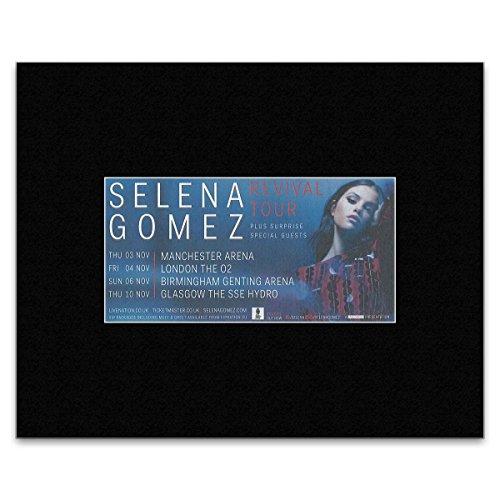 NME Selena Gomez – Revival Tour 2016 Mini-Poster, 30,3 x 25,4 cm
