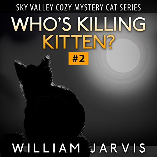 Who's Killing, Kitten? audiobook cover art