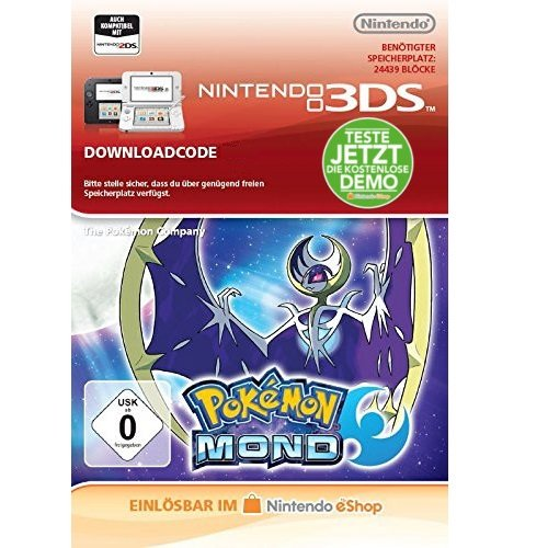 Pokémon Mond Gratis Demo [3DS Download Code]