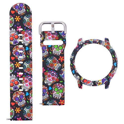Watch Supplies - 1 Set of Printing Watch Strap Protective Watch Shell Compatible for LS05