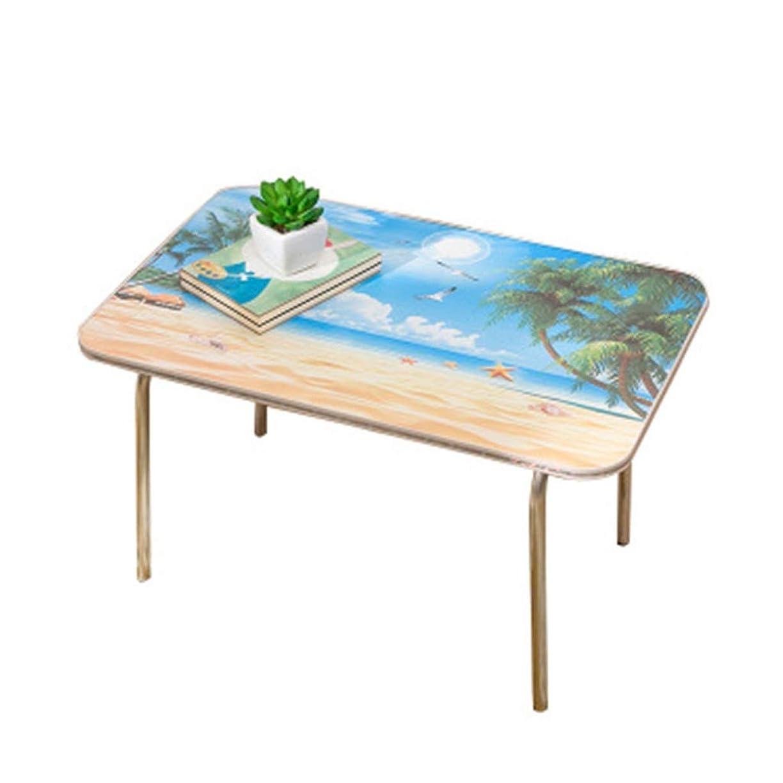 スマッシュ構造的次パーラー折り畳み式学習机、寝室の学生は小さなテーブルを読む-屋内学習ベッドテーブル-多機能ダイニングテーブル- (Color : #2)