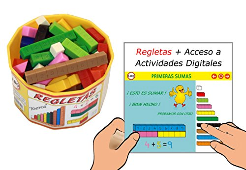 Regletas LADO con Actividades Digitales ( 52 pcs + Licencia anual)