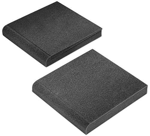 Pronomic ISO-Stand 7 Studiomonitor Absorberplatte 7' (Dämmkeil, Schrägsteller, 2-Komponenten, 5 verschiedene Neigungswinkel, Maße: 4 x 27 x 29,5cm) Anthrazit