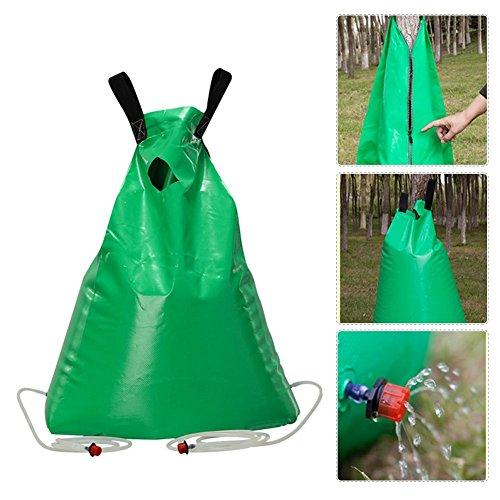 Esplic Tree Watering Bag, 13 Gallon Slow Release Watering Bag with Adjustable Nozzle Relief Garden Fruit Tree Irrigation Bag
