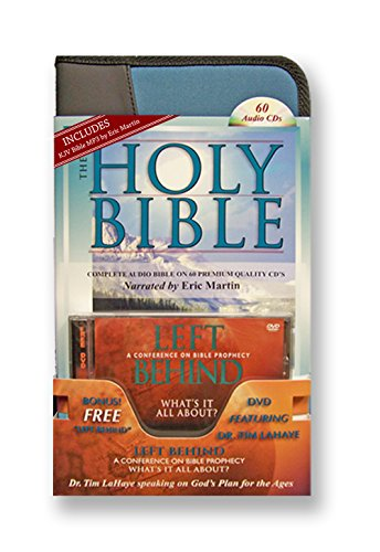 """King james Version Audio Bible on 60 CDs-Plus Free Audio Bible, a 2nd Complete Audio Bible Free on MP3 Discs-Plus Free Tim LaHaye speaking on """"God's Plan for the Ages."""""""