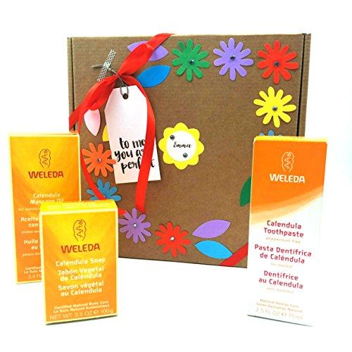 Coffret cadeau avec des produits bio 100% naturels idéal pour hommes ou femmes