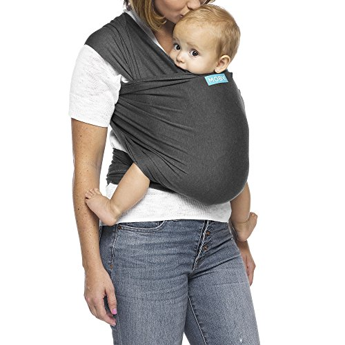 Moby Wrap Evolution - Fular portabebés elástico, color cha