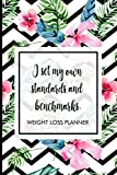 I set my own standards and benchmarks.: Weight Loss Tracker to track your journey to being fit. Includes meal planner, shopping list, workout planner, progress tracker and many more.