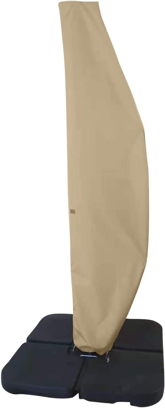 Garden Shipping included Balsam Patio Umbrella Cover for 12FT Offset Umbre to 14FT Special Campaign