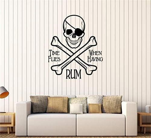 pegatina de pared etiqueta de la pared El tiempo de Pirate ...