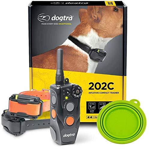 Dogtra E-Collar 200C / 202C Dog Training Collar System with Remote – 1/2 Mile Range, 1-2 Dog...