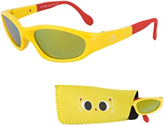 Baby Sunglasses, Mirrored Lenses Infant & Toddler Sunglasses - Ages 0-3 Years, 100% UV Protection