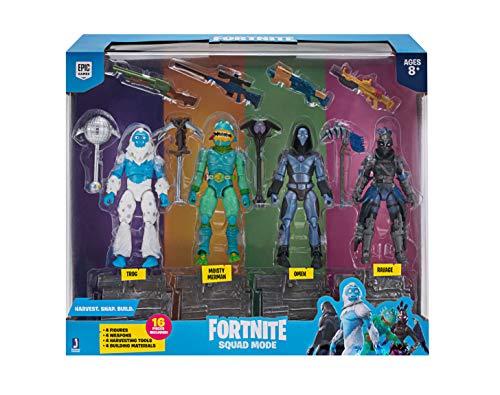 Toy Partner 2 Pack 4 FIGUAS FORTNITE Squad Mode Core, Serie 2, 10 CM, Multicolor (FNT0109) 2