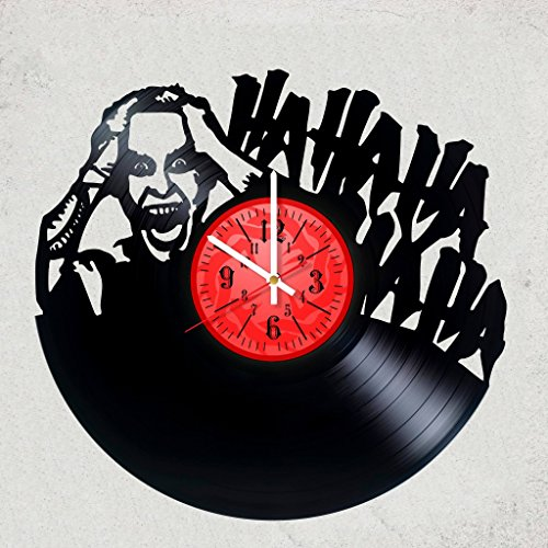Home decor USA JOKER VINYL WALL CLOCK - Awesome gift for your friend or batman fan DC COMICS merchandise gifts for kids bedroom decor HAHAHA