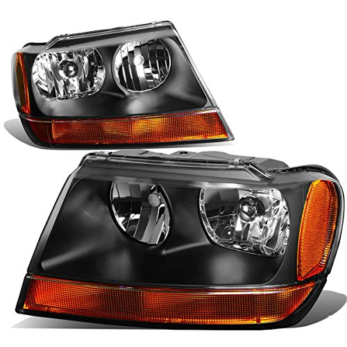 04 jeep grand cherokee headlights - 7