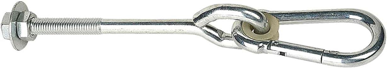Yinuoday Mini Swing Haken, Lange Swing Haken Load Bearing 200KG Quick Link Haak Karabijnhaak Swing Play Set Swing Installe...