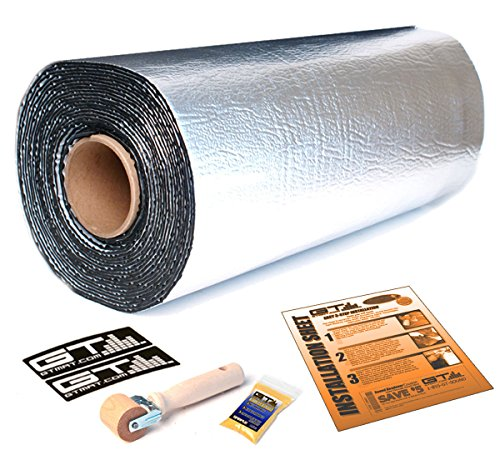 45sqft GTMat Ultra 80mil Self Adhesive Automotive Heat Insulation Sound Rattle Deadener Road Noise Soundproofer Dampener