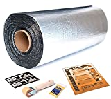 GTMAT 80mil ULTRA – 50sqft Car Sound Deadener Noise Heat Insulation Deadening Mat